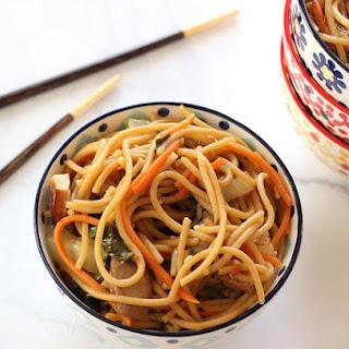 Bok Choy Chinese Noodle Bowls {Recipe ReDux} Recipe