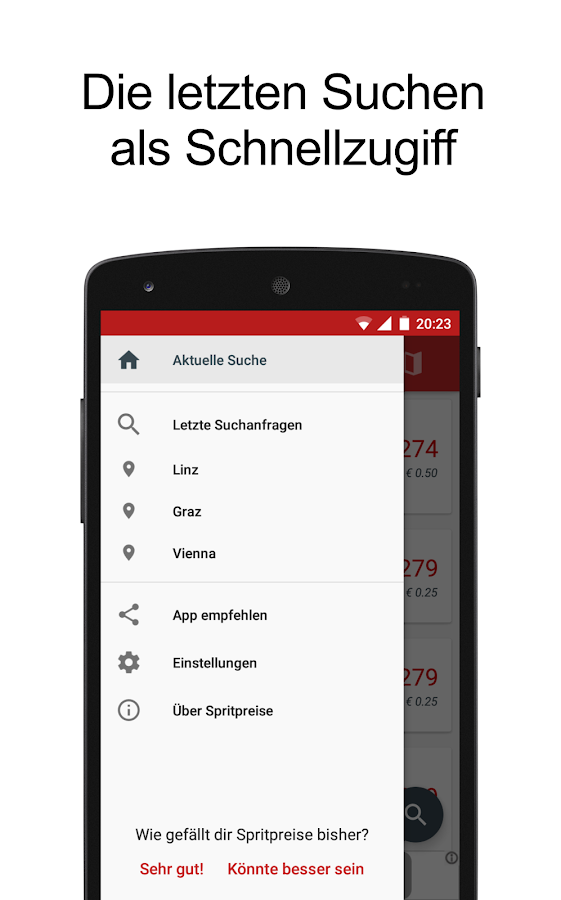 Spritpreise Tanken Österreich- screenshot