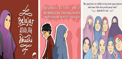 Download 6600  Gambar Animasi Muslimah Jaman Now  Terbaru