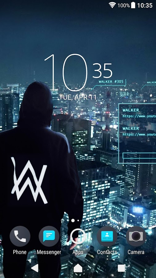 XPERIA™ Alan Walker™ Theme- screenshot