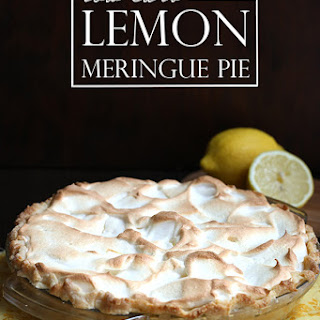 Low Carb Lemon Meringue Pie