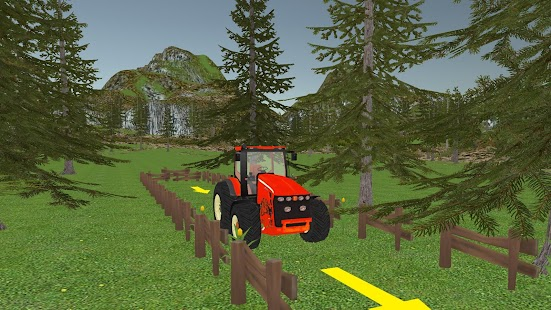 Super Tractor Parking 3D screenshot