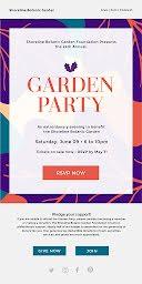 Shoreline Garden Party - Party Invitation item