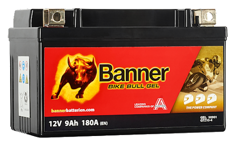 Banner Bike Bull GEL GTZ10-4 12V 9Ah