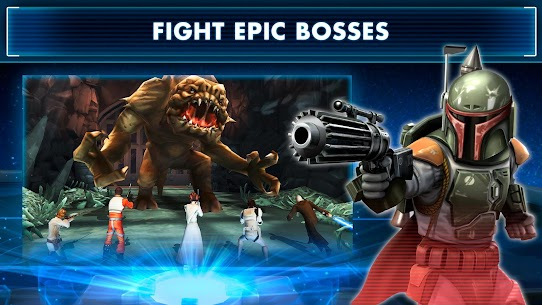 Star War Galaxy of Heroes 0.9.242934 (Unlimited Crystals) MOD Apk 2