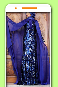 Evening Wear Hijab Styles screenshot 2