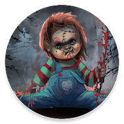 Scary Doll Halloween Theme - Wallpapers and Icons