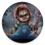 Scary Doll Halloween Theme - Wallpapers and Icons Apk