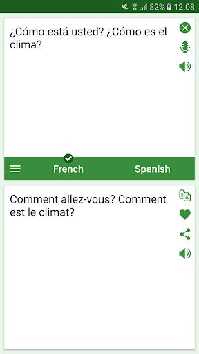 French - Spanish Translator screenshots 2
