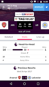 Premier League - Official App APK screenshot thumbnail 4