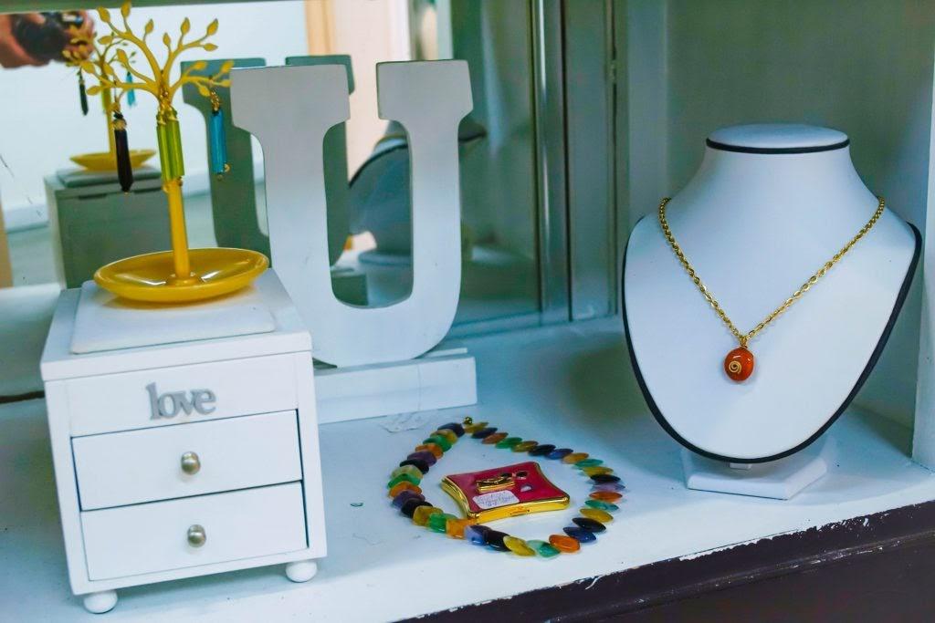 Uneena's: Jewelry Display