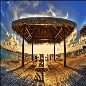 пляжные домики головоломка