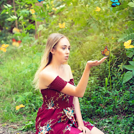 Butterflies by Adam Beniston - Digital Art People ( butterflies )