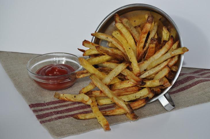 Homemade Fries - Basic Twice Baked French Fries Recipe | Yummly