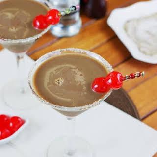 Chocolate Covered Cherry Martinis.