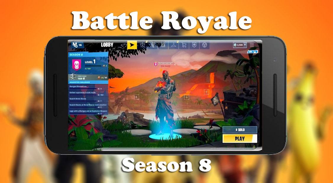 Battle Royale Season 8 HD Wallpapers Android App Screenshot