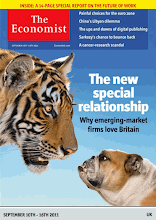 Photo: The Economist cover: UK edition. September 10th 2011