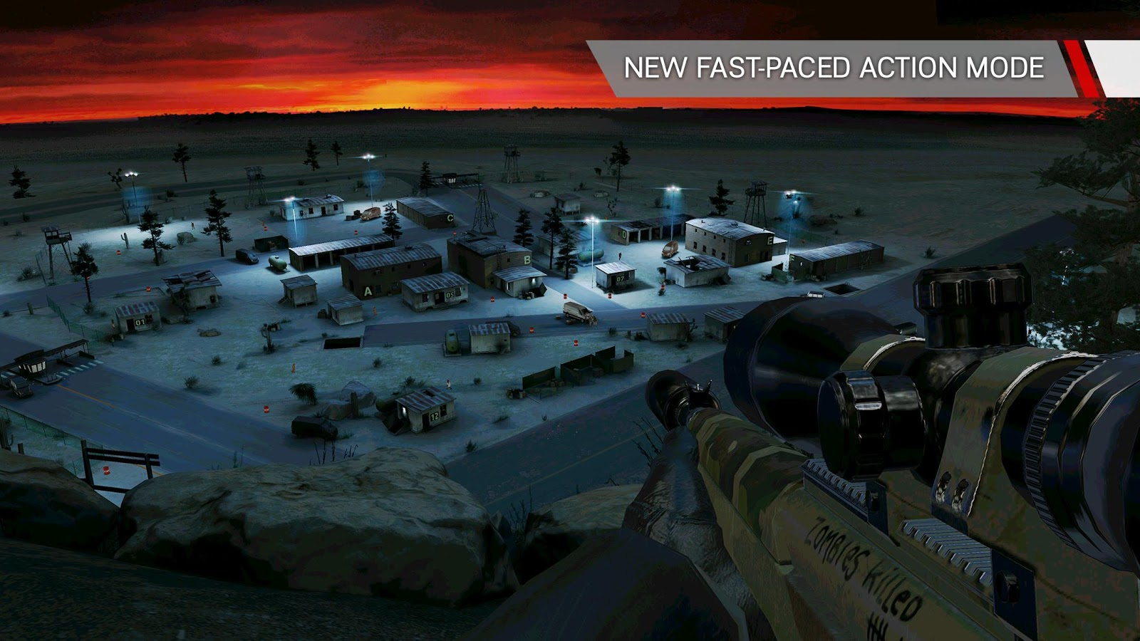 Screenshots of Hitman: Sniper for iPhone