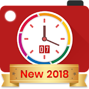 Auto Stamper: Timestamp Camera App for Photos 2018