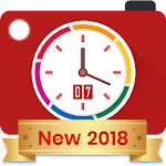 Auto Stamper: Timestamp Camera App for Photos 2018 Icon