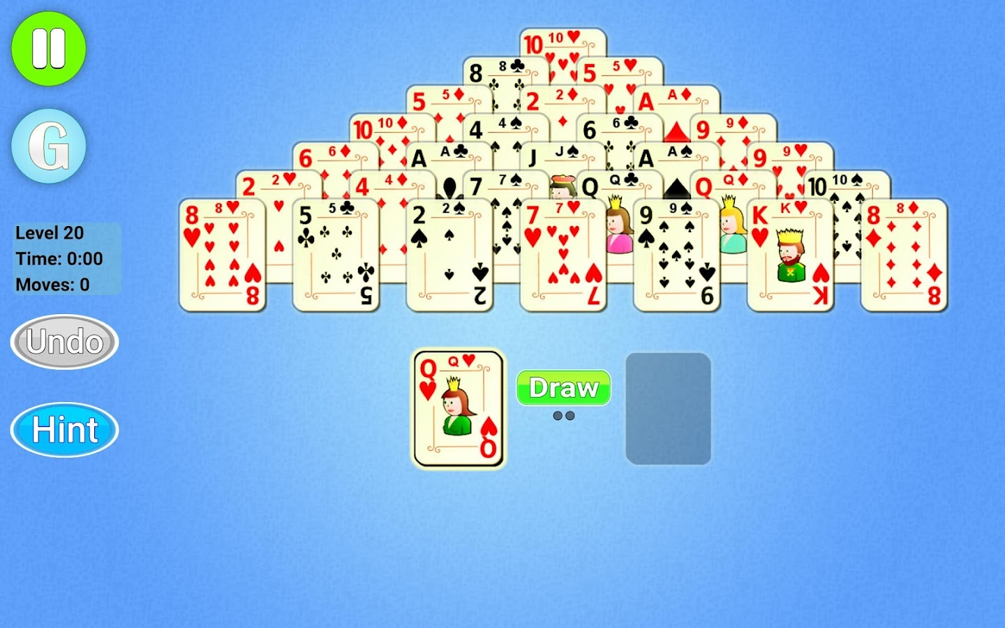 Pyramid Solitaire Epic- screenshot