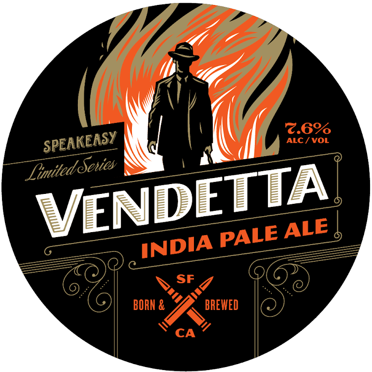 Logo of Speakeasy Vendetta IPA