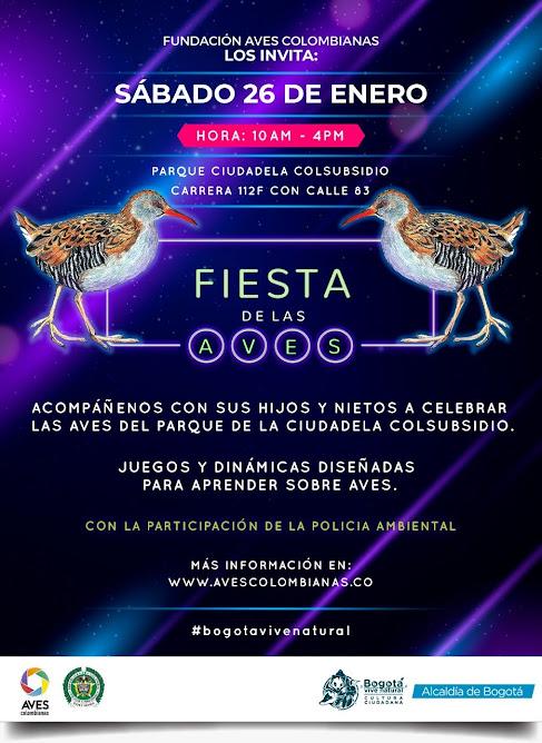La Fiesta de las aves, humedal Juan Amarillo