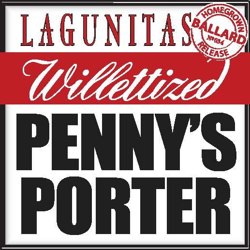 Logo of Lagunitas Willettized Penny's Porter