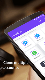MultiChat - multiple accounts & clone parallel app on Windows PC