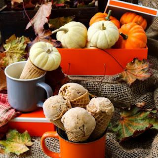 Pumpkin Dulce de Leche Ice Cream