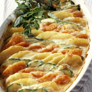 Mixed Vegetable Gratin with Herbs
