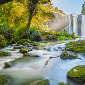 w h a n g a r e i | f a l l s | b e a u t y by Anupam Hatui - Landscapes Waterscapes ( watersape, waterfalls, colors, whangarei falls, landscape, new zealand,  )