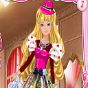 Barbies Valentines Patchwork Dress