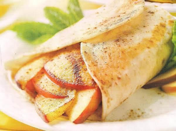 Peach Burritos Recipe