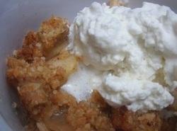 Rich And Creamy Apple Crisp (heirloom Recipe)