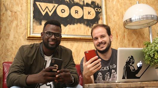 Abdoulaye Tal y Fran López Montoro, en Almería