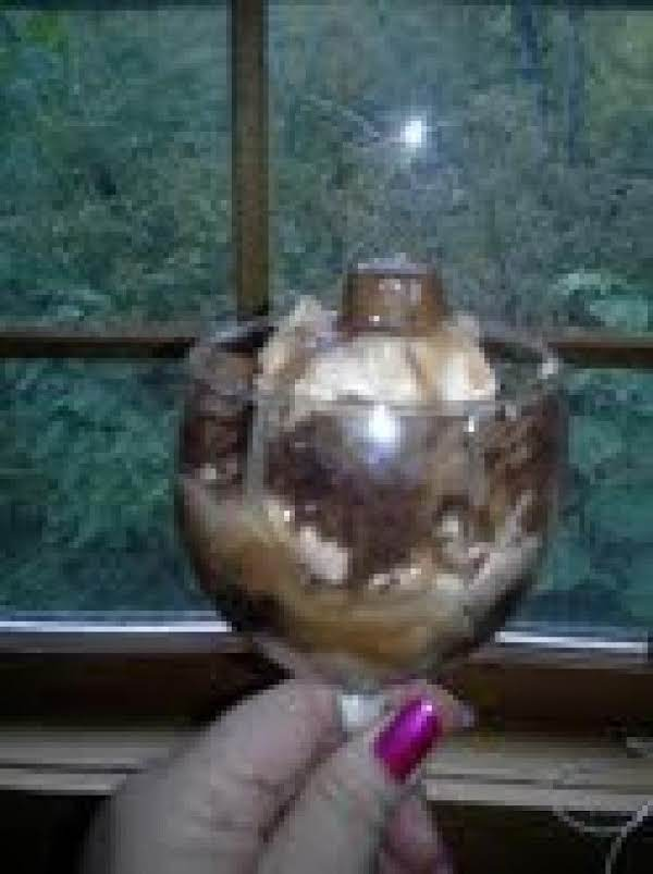 I Layered It In A Wine Glass.. Pretty And Yummy
