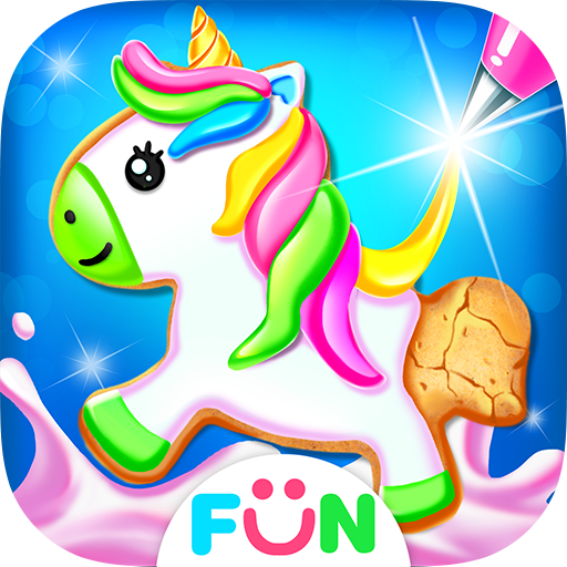 Unicorn Cookie Maker – Baking Games