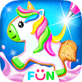 Unicorn Cookie Maker – Baking Games APK