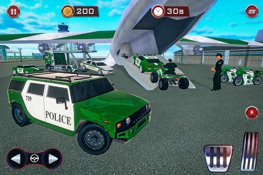 US Police Transporter: Cargo Plane Simulator