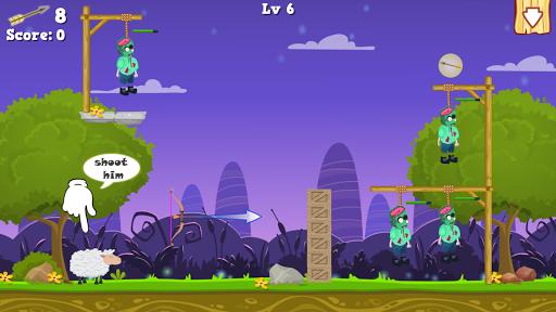 Zombie archery bowmaster 1.1 screenshots 4