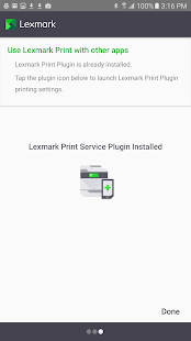 Lexmark Mobile Print- screenshot thumbnail