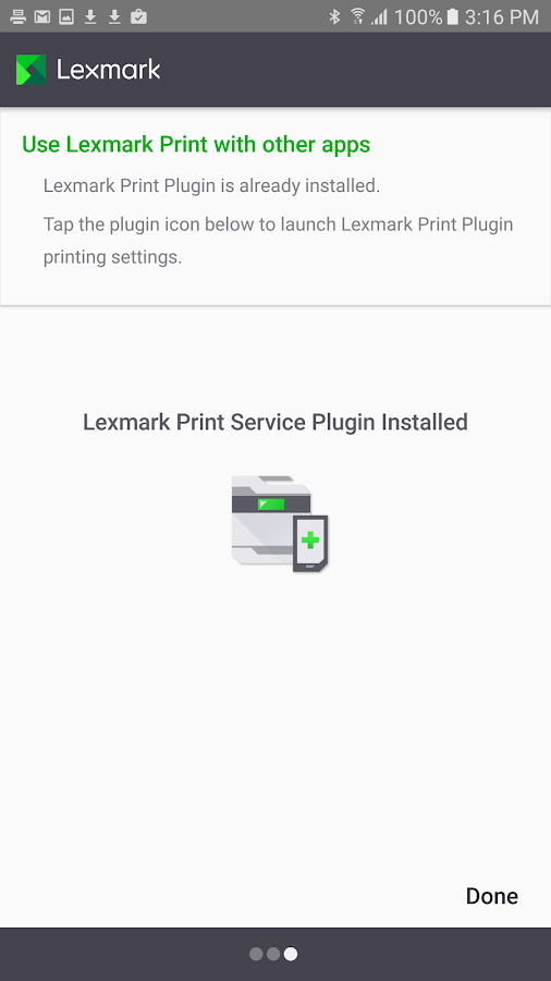 Lexmark Mobile Print- screenshot