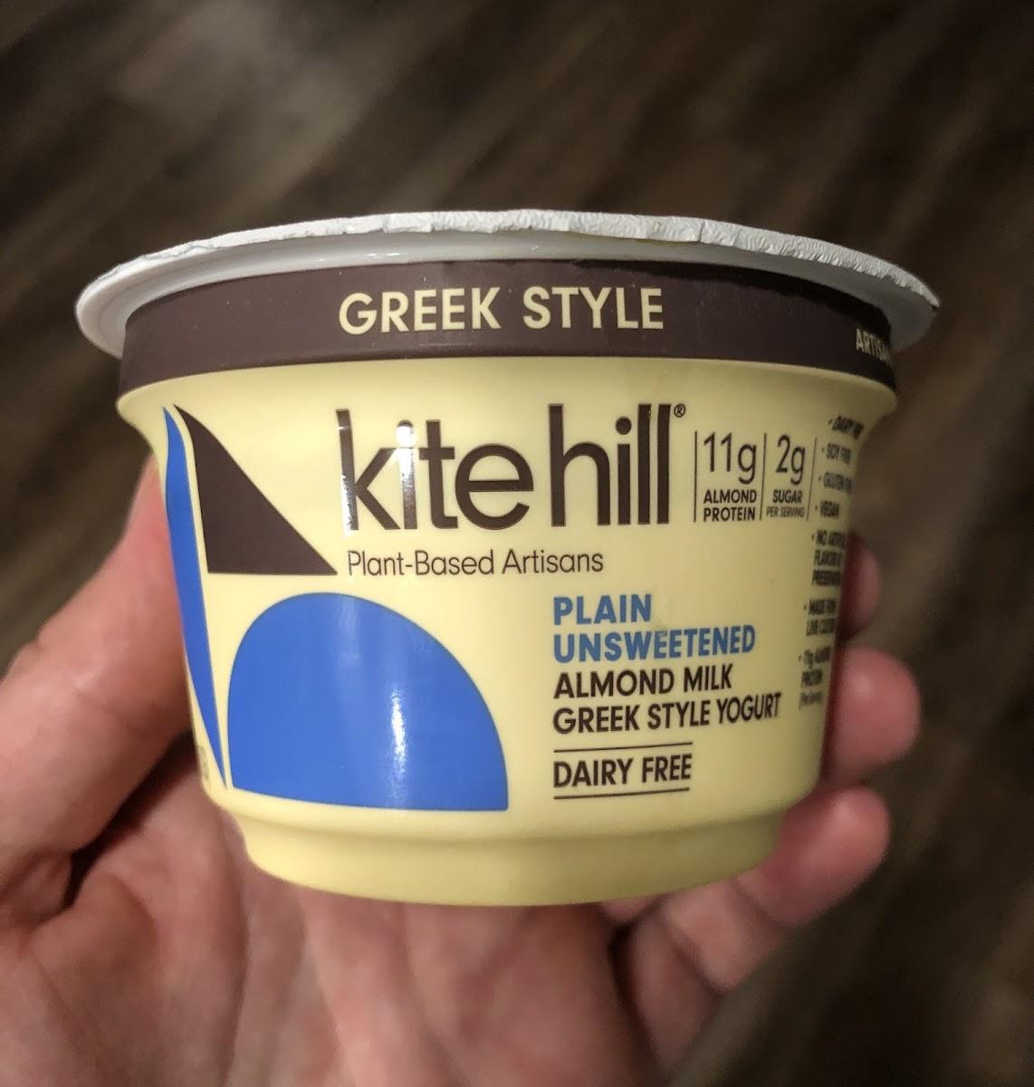 Plain Unsweetened Almond Milk Greek Style Yogurt