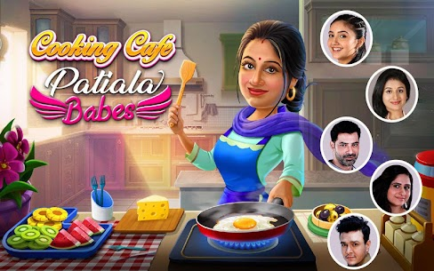 PATIALA BABES COOKING CAFE MOD APK RESTAURANT GAME DOWNLOAD FREE 1