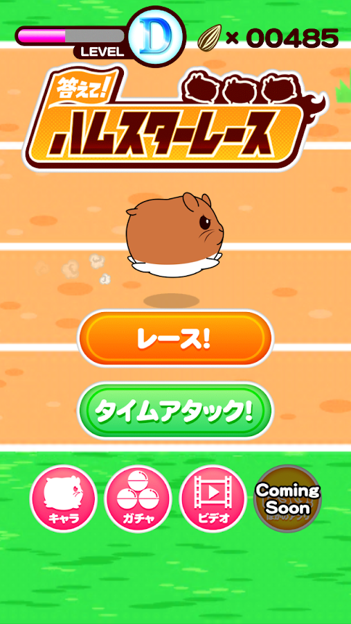 Let's Answer! Hamster Race- screenshot