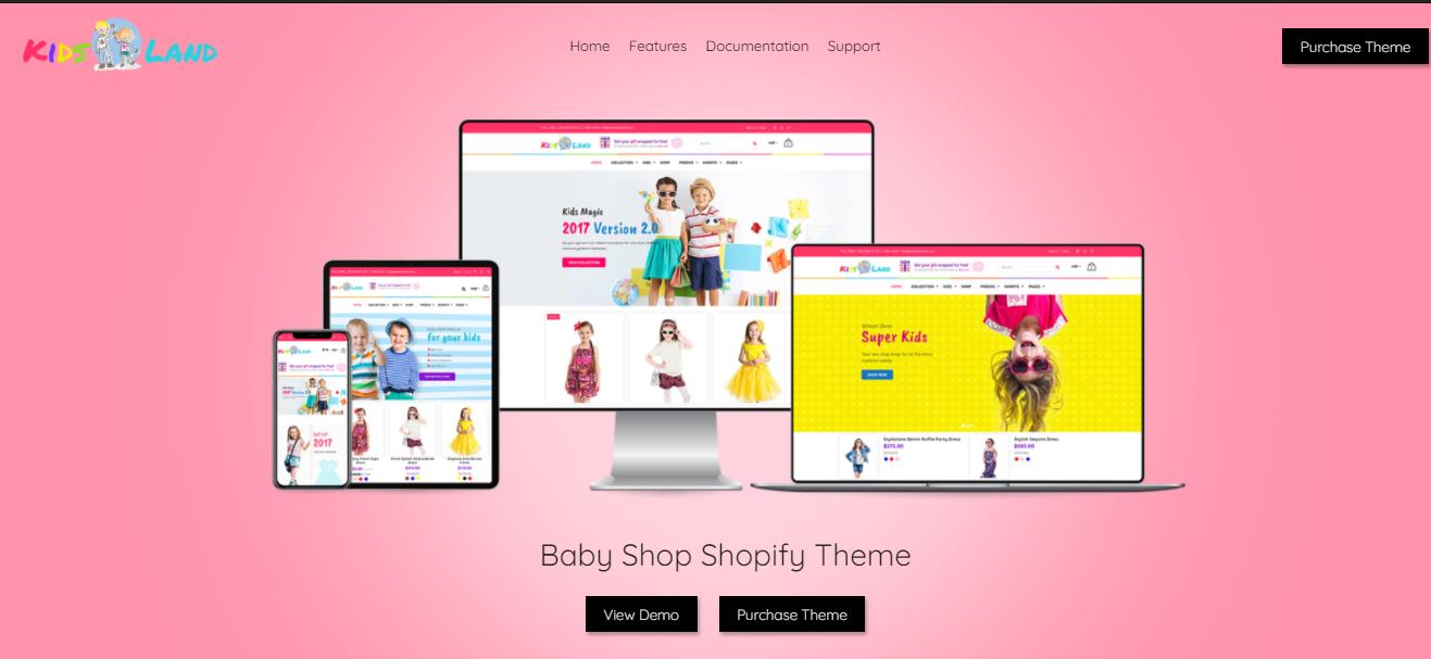Kids store - Shopify bookstore theme