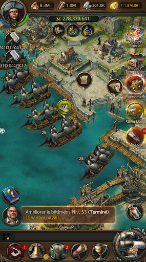 Code Triche Pirates of the Caribbean: ToW APK MOD screenshots 6