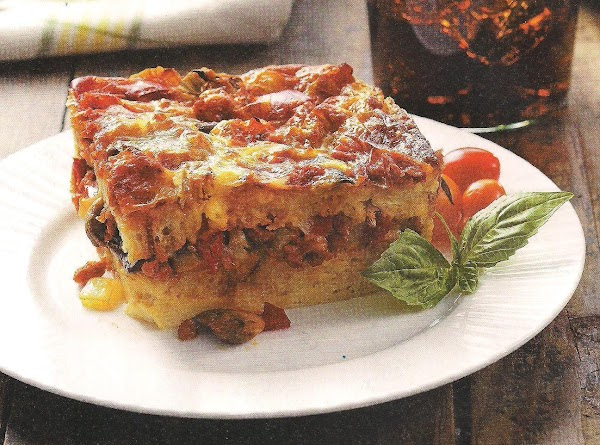 Pizza Strata Recipe