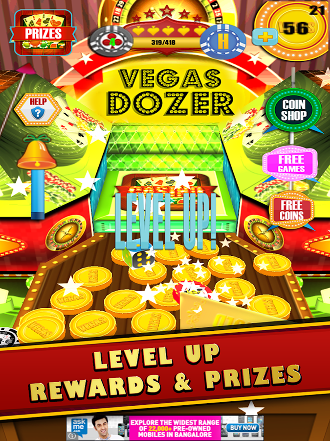 Coin dozer level up : Buy bitcoin with gamestop